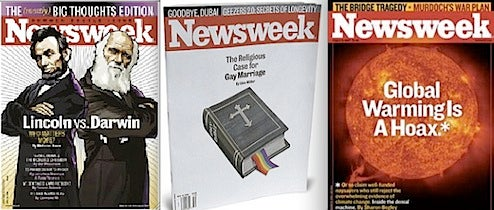 Newsweek Nukes Itself Into Printed Blog