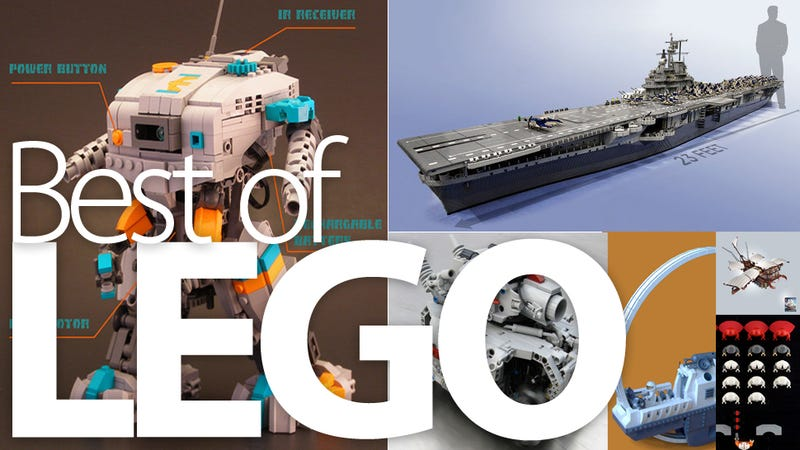 The Best Lego Builds of the Year