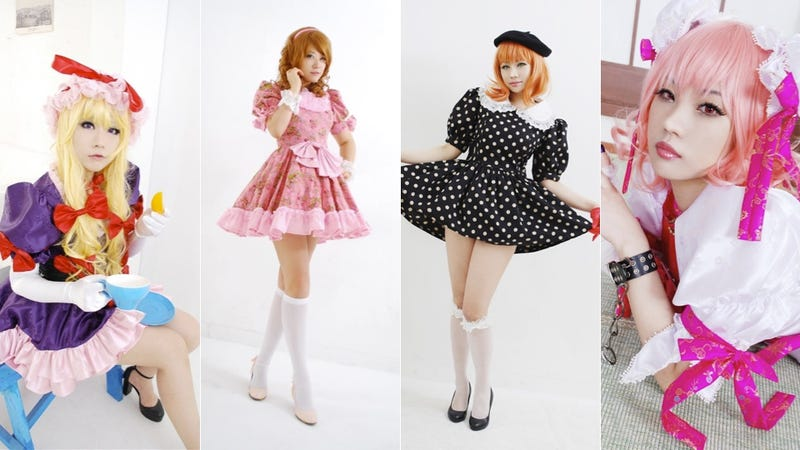 Oh Those Frilly, Cute Outfits