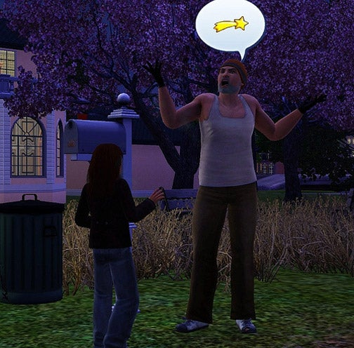 The Sad Story Of Two Homeless Sims