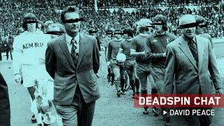 I'm David Peace, Author Of <em>The Damned Utd</em> And <em>Red Or Dead</em>. Let's Chat.