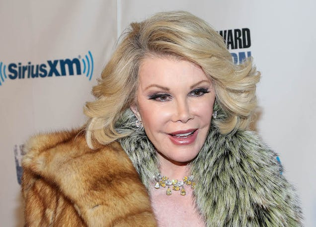 Joan Rivers Reportedly in Stable Condition After Surgery Scare
