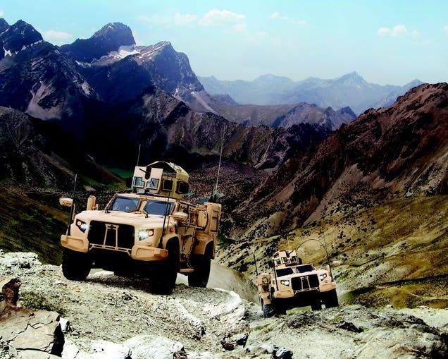 Este es el nuevo camión militar que reemplazará al mítico Humvee
