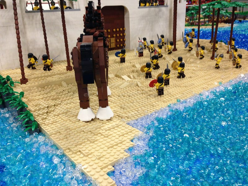 Most Of Homer's The Odyssey In One Giant Lego Build