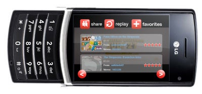 LG to Develop YouTube Phone