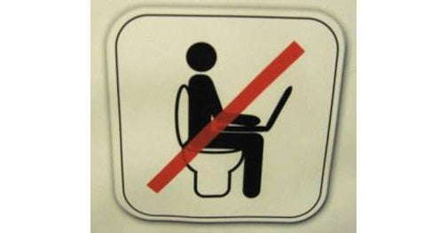 Just Don't Drop It in the Toilet