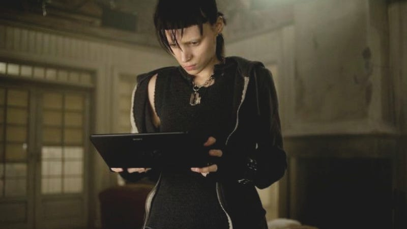 Nostalgia for cyberpunk haunts The Girl with the Dragon Tattoo