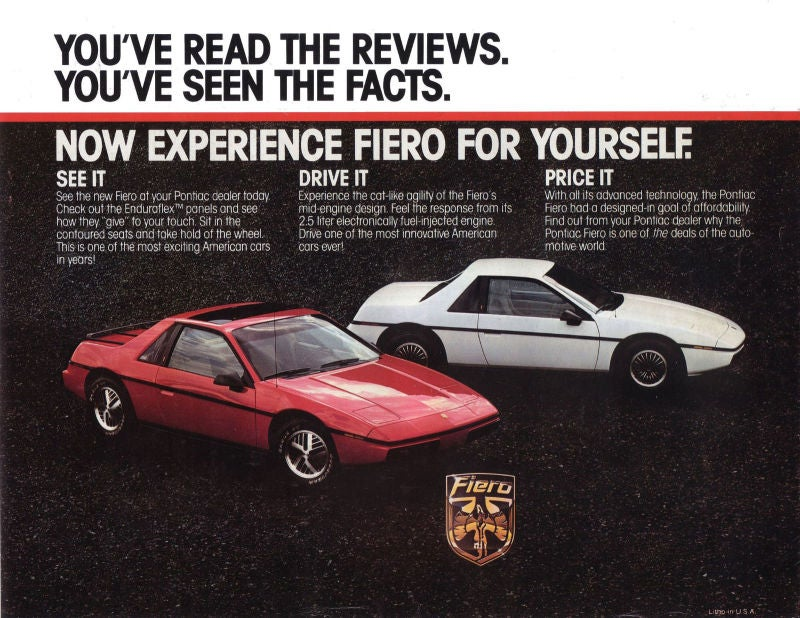 Pontiac Fiero: The Definitive History