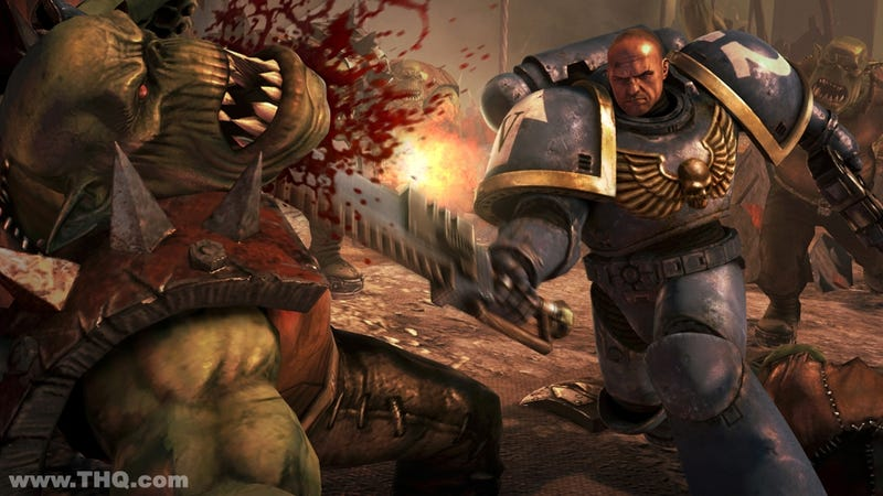 Co-Op Multiplayer May Have to Wait in Warhammer 40,000: Space Marine