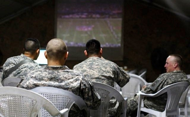 Government Shutdown Means Overseas Troops Can't Watch Sports
