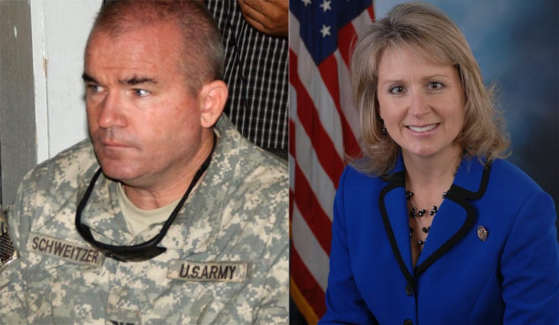 General Gets a Wrist-Slap for Jerk-Off Fantasy About GOP Congresswoman