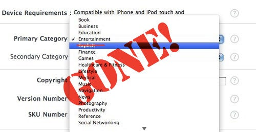"""New """"Explicit"""" Category in App Store Could Herald Return of Sexy Apps"""