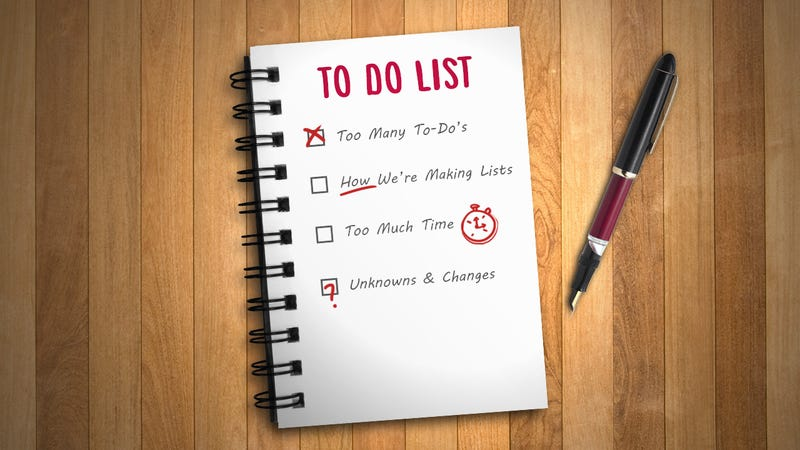 Master the Art of the To-Do List by Understanding How They Fail