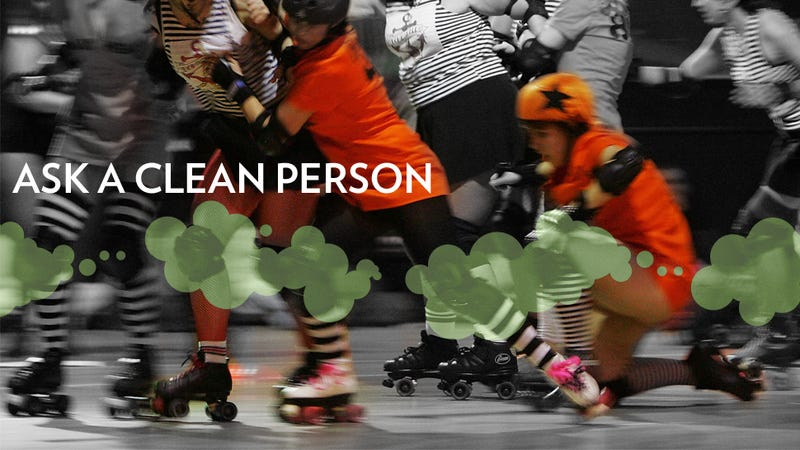 How To Clean Your Roller Derby Pads and Make Your Computer Less Gross