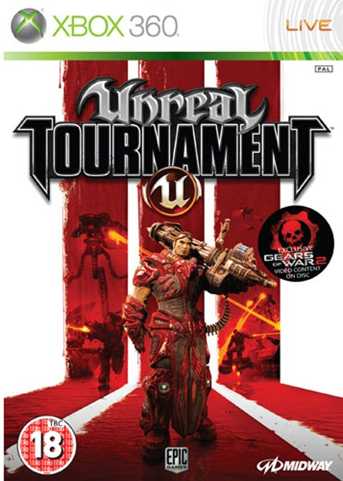 "Unreal Tournament III Box Mentions Gears 2 ""Exclusive Video Content"""