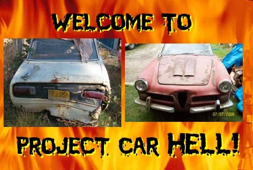 Project Car Hell, Affordable 60s Alfa Romeo Edition: 2000 Spider or 1750 Berlina?