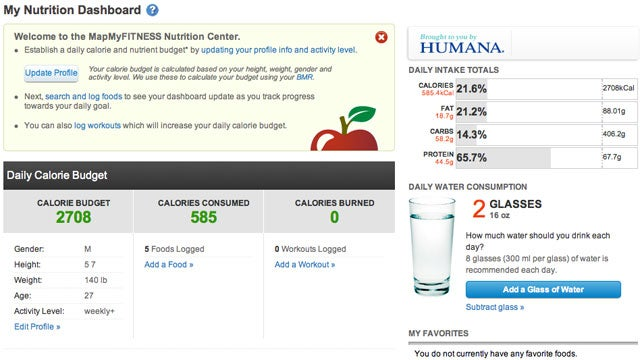 MapMyFitness Nutrition Center Suggests a Healthier Diet Based on Data Logged by Your Smartphone
