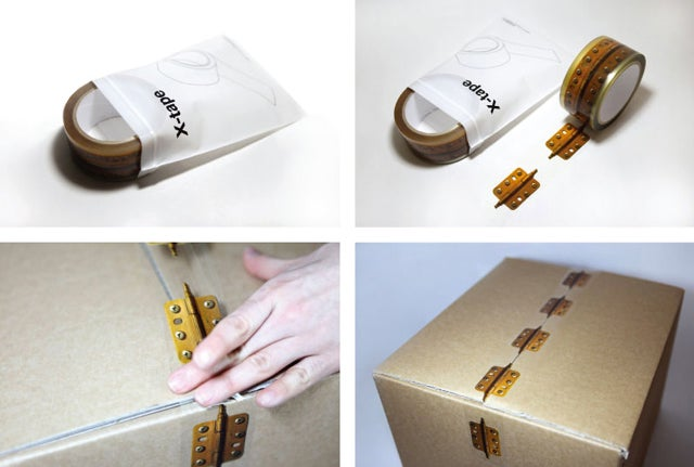 Tape Up Your Box With Hinges