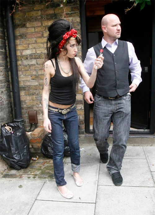 Amy Winehouse: Just Wait Until I Cap A Pop In Yer Ass