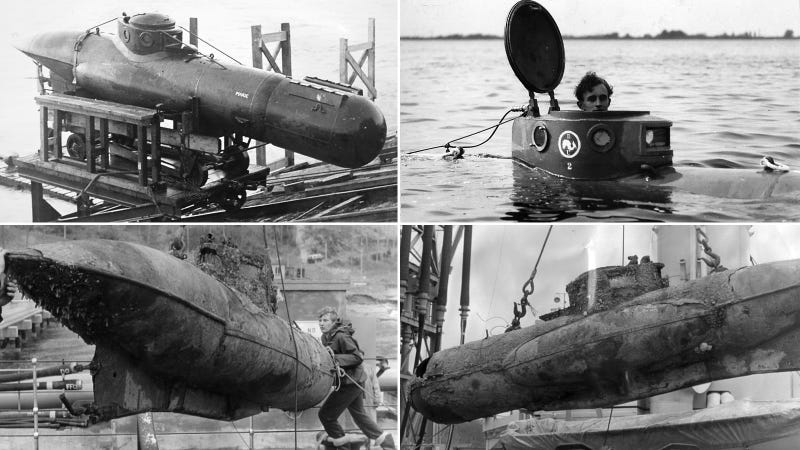 17 One-Man Submarines That Will Take Your Breath Away