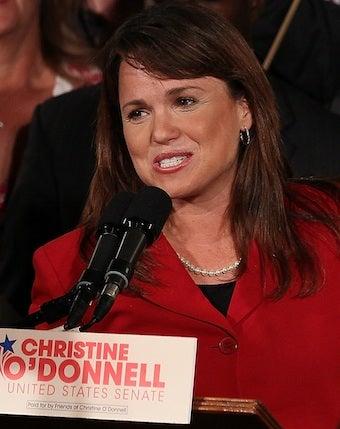 Masturbation-Hater Christine O'Donnell Wins Senate Primary