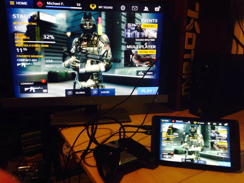 Watch Us Play Modern Combat 5 On The Nvidia Shield Tablet [All Done]