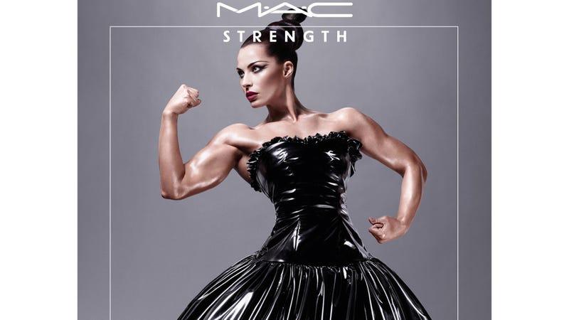 MAC Put A Female Bodybuilder In A Makeup Ad And It's Beautiful