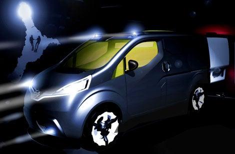 Tokyo Auto Show: Nissan Releases Sketch-Tease Of NV200 Concept Van