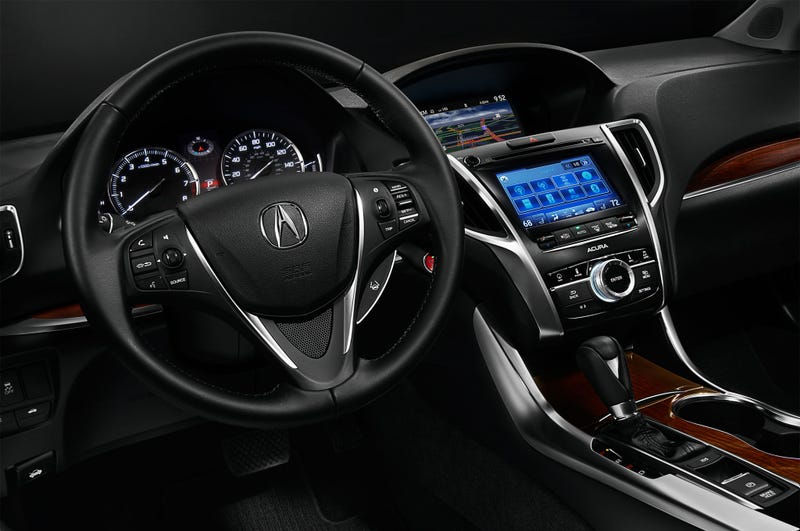 The Acura TLX