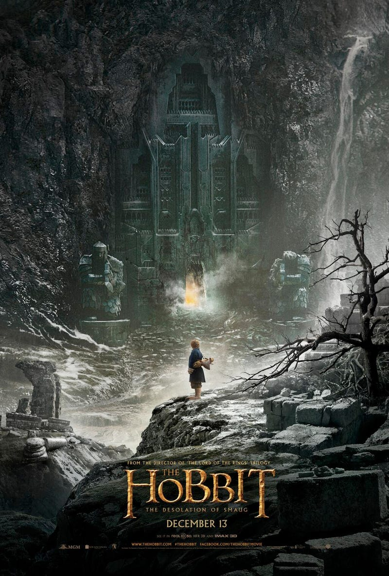 Behold the first poster for The Hobbit: The Desolation of Smaug