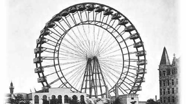 The Life and Explosive Death of the World's First Ferris Wheel