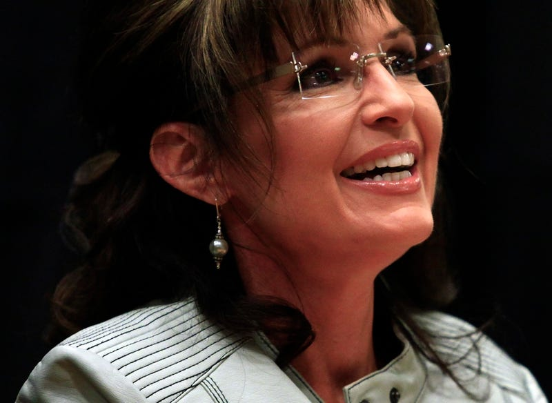 Sarah Palin to Annoy People Overseas Now