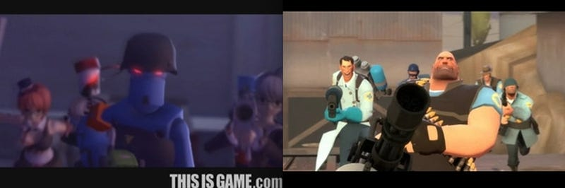 Korean PC Game Rips-Off Team Fortress 2