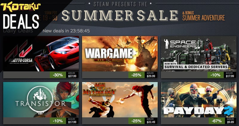 Steam Summer Sale Day 9, Discount Plus and LIVE Subs, Pokemon X