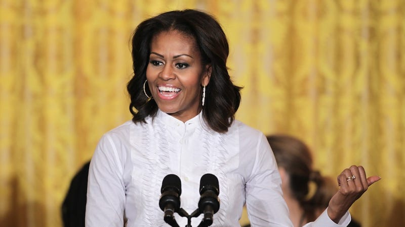 CONTROVERSY: Michelle Obama Wants Kids to Go to College
