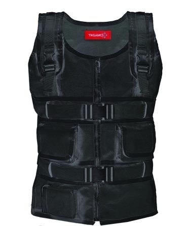 Force Feedback Gaming Vest Uses Compressed Air to Mimic Pain