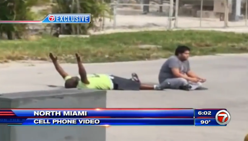 Video Shows Unarmed Black Man Pleading With Arms Raised Before Getting Shot by Police