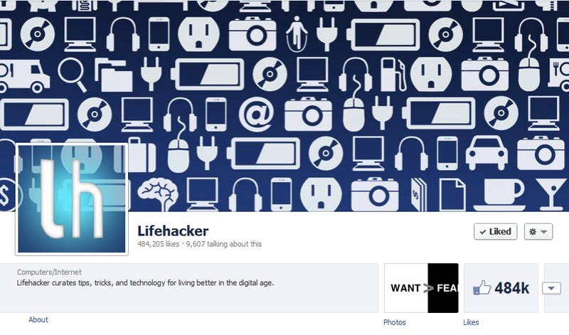 Like Lifehacker on Facebook for Top Stories and More in Your Feed