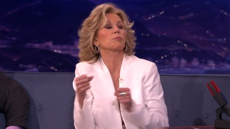 Jane Fonda's Sex Advice to Conan: It's Not All About the Boners
