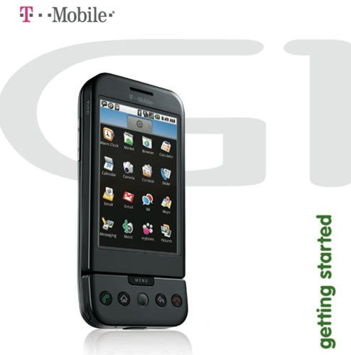 T-Mobile G1 User's Guide Leaked: 40 Shots of Scrambled UI