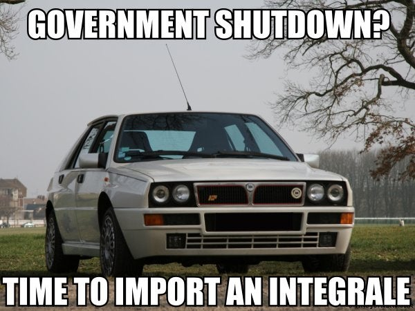 Maybe this shutdown thing isn't so bad after all...