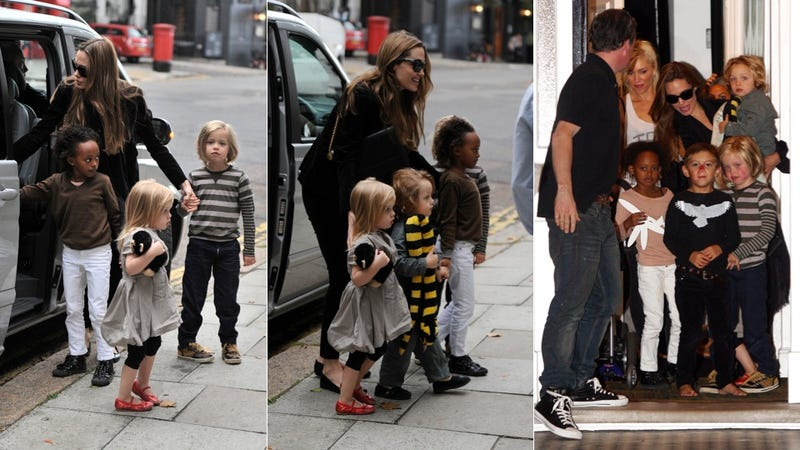 The Jolie-Pitt Kids Hang With The Stefani-Rossdales