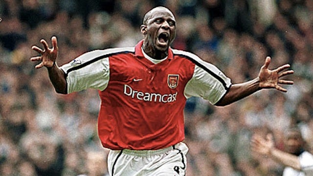 "So Long, Patrick Vieira. You'll Always Be ""The Big Sausage"" To Arsenal Fans"