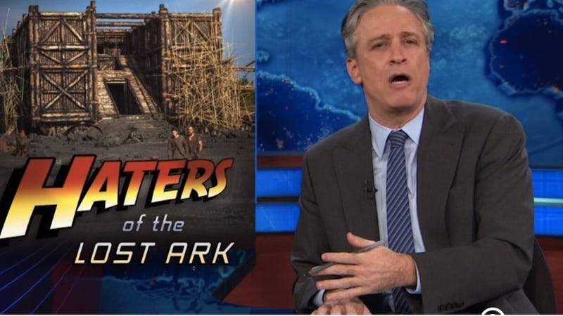 The Daily Show Reminds You That Everyone Dies in the Story of Noah