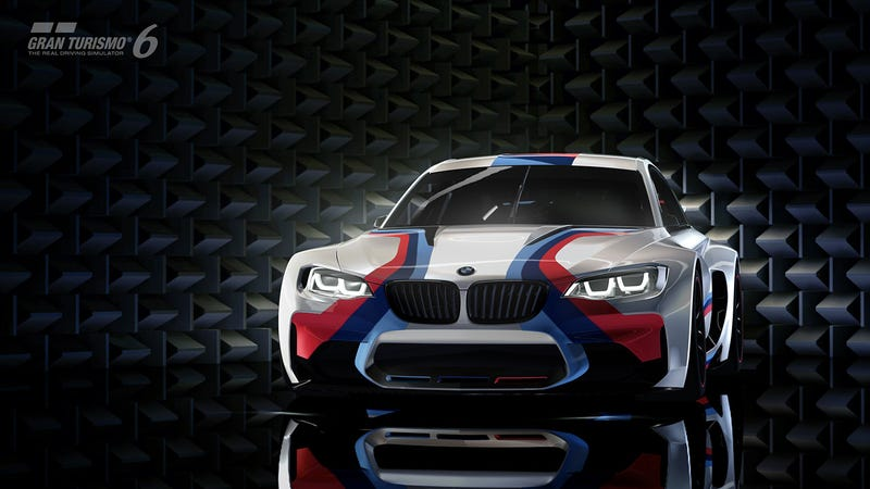I'm A Bit Late To the Game, But BMW's Vision GT Car is the Bee's Knees!