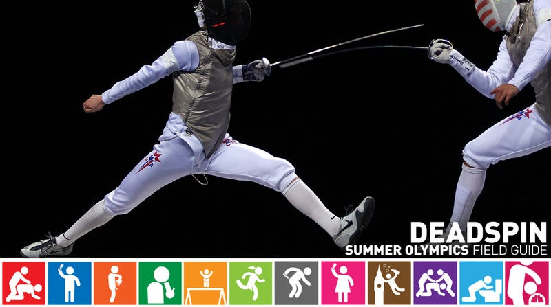 Olympics Field Guide: Race Imboden, The New Face Of American Fencing