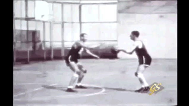 This Footage Of White Dudes Playing Basketball In 1932 Is A Thing Of Beauty