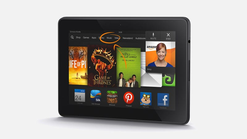 Kindle Fire HDX: Amazon's Tablet, All Growed Up At Last