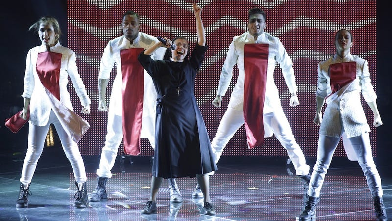 The Singing Nun Covered Flashdance to Win the Italian Voice