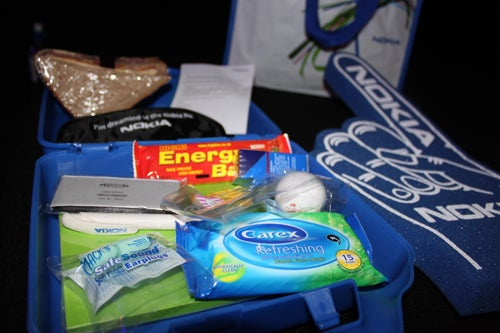 "Nokia Hands Out Snarky ""HTC Press Conference Survival Kits"" to Journalists in London"